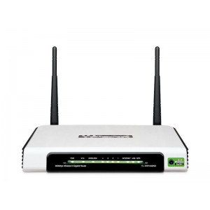 ROUTER WI-FI WLAN WAN 4-port.GIGABIT5dB,USB,TL-WR10420ND