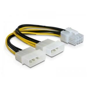 KABEL ZASIL. MOLEX 2 HDD / 1x PCI EXPRESS 8pin