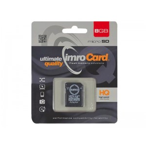 KARTA PAMIĘCI MICRO IMRO 8GB