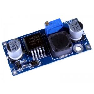 PRZETWORNICA DC wejś.4,5-35/DC wy.2-35V  LM2596, max.z radiatore 3A