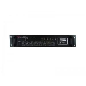Wzmacniacz PA ZB1006SD 100W SD,USB miksujący 6-strefowy