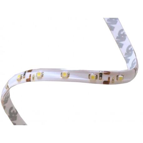TAŚMA LED biała zimna, żelowana, 8mm 3528 4,8W/m, 60LED/m