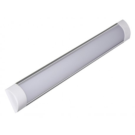 LAMPA LED 18W, aluminum, natynkowa, 4000K 230V/50Hz, 605x73x24mm