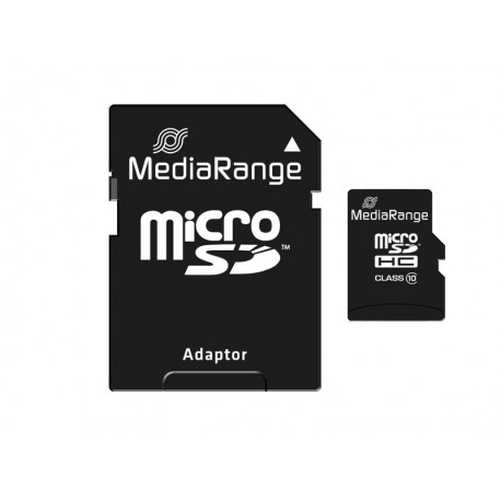 KARTA PAMIECI MicroSD 16 GB CLASS 10 MEDIA
