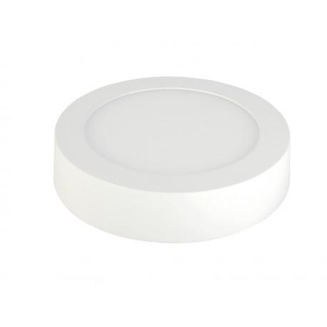 PANEL LED 6W, okrągły, natynkowy 3000K, 12x3,5 cm