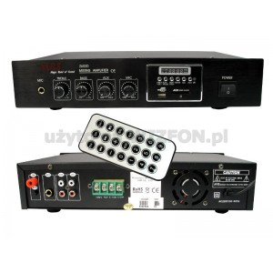 WZMACNIACZ PA Z60SD 60W,SD,USB